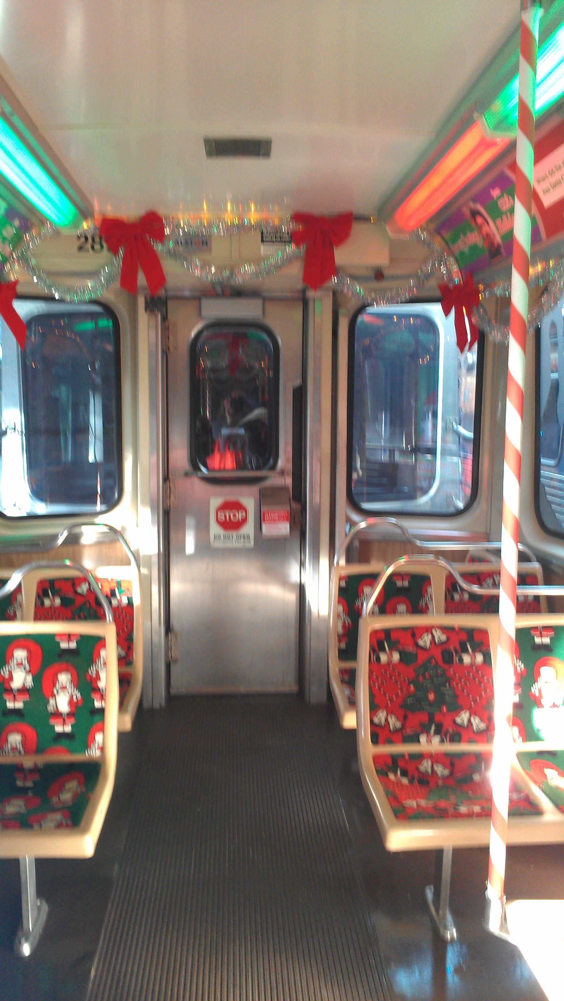 the cta holiday train is not the el its - Cta Christmas Train 2014