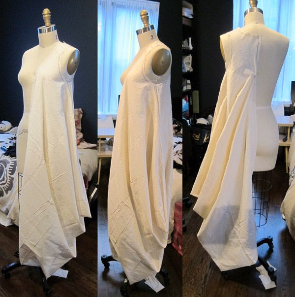Draped Gown Pattern: For The Love Of Sewing