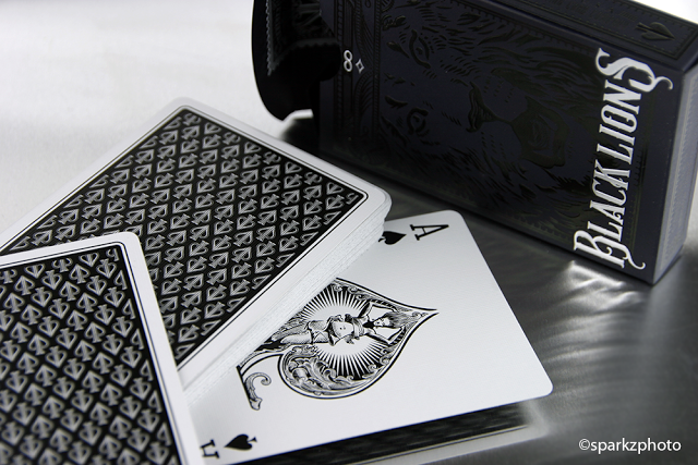 Collections: Black Lions by David Blaine | Kardify : Playing Cards News