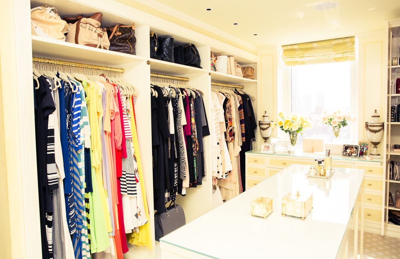 Gayle King Kings home, Closet built ins, Dressing room