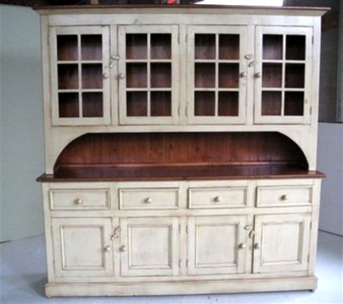 White Kitchen Hutch country style white kitchen hutch | country style, pine kitchen