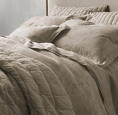 Vintage Washed Belgian Linen Bedding From Restoration Hardware Have This Its Amazing Bed Linen Design Belgian Linen Belgian Linen Bedding