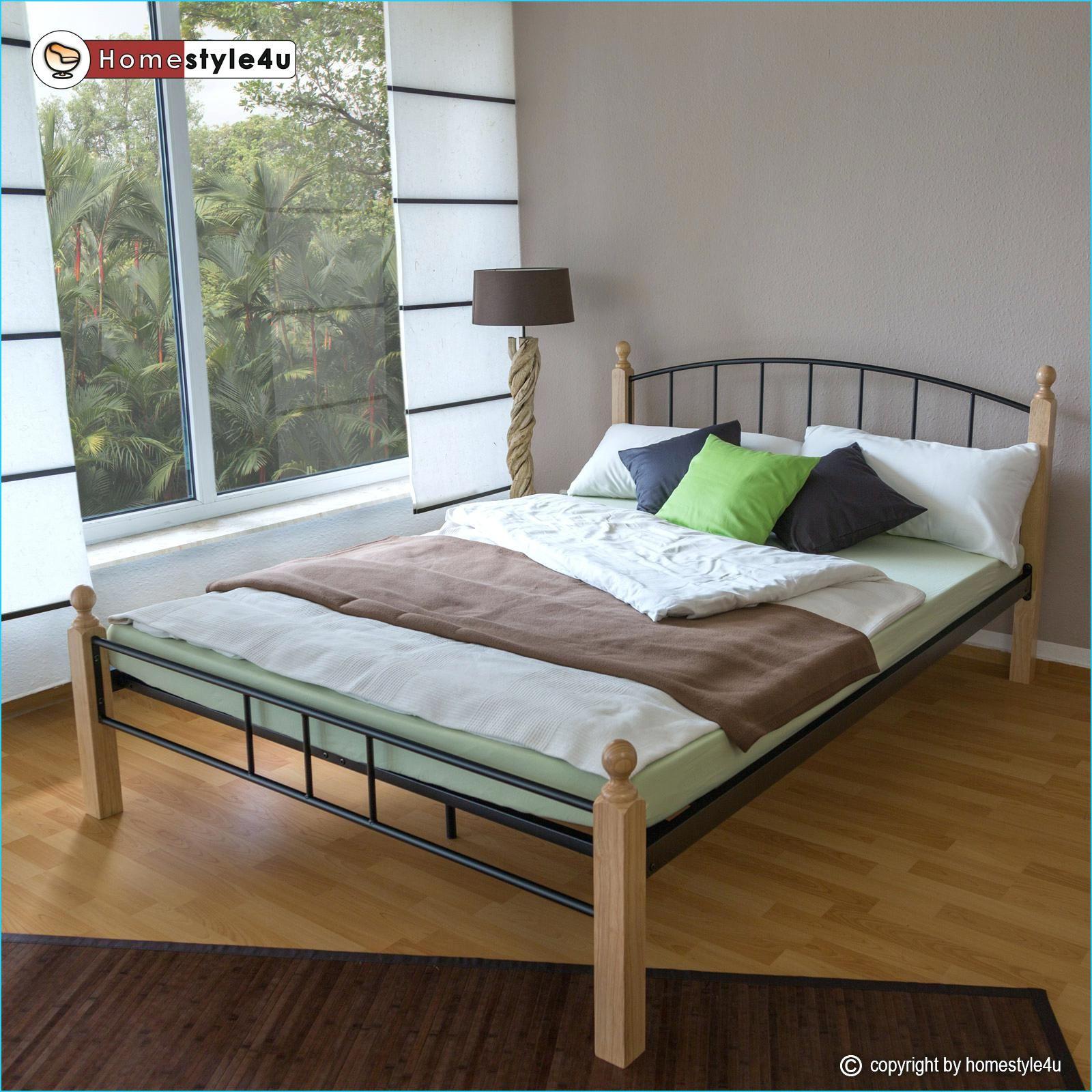 Doppelbett Mit Lattenrost Bett 120x200 Inkl Und Matratze Betten