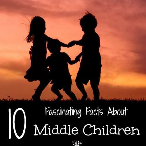 10 Surprising Scientific Facts About Middle Children | Do you think these are true for your middle child? #middlechildhumor