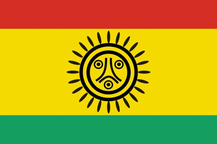 This Is The Official Tribal Flag Of The Jatibonicu Taino Tribal Nation Of Boriken Puerto Rico Native American Flag Puerto Rico Flag Taino Indians