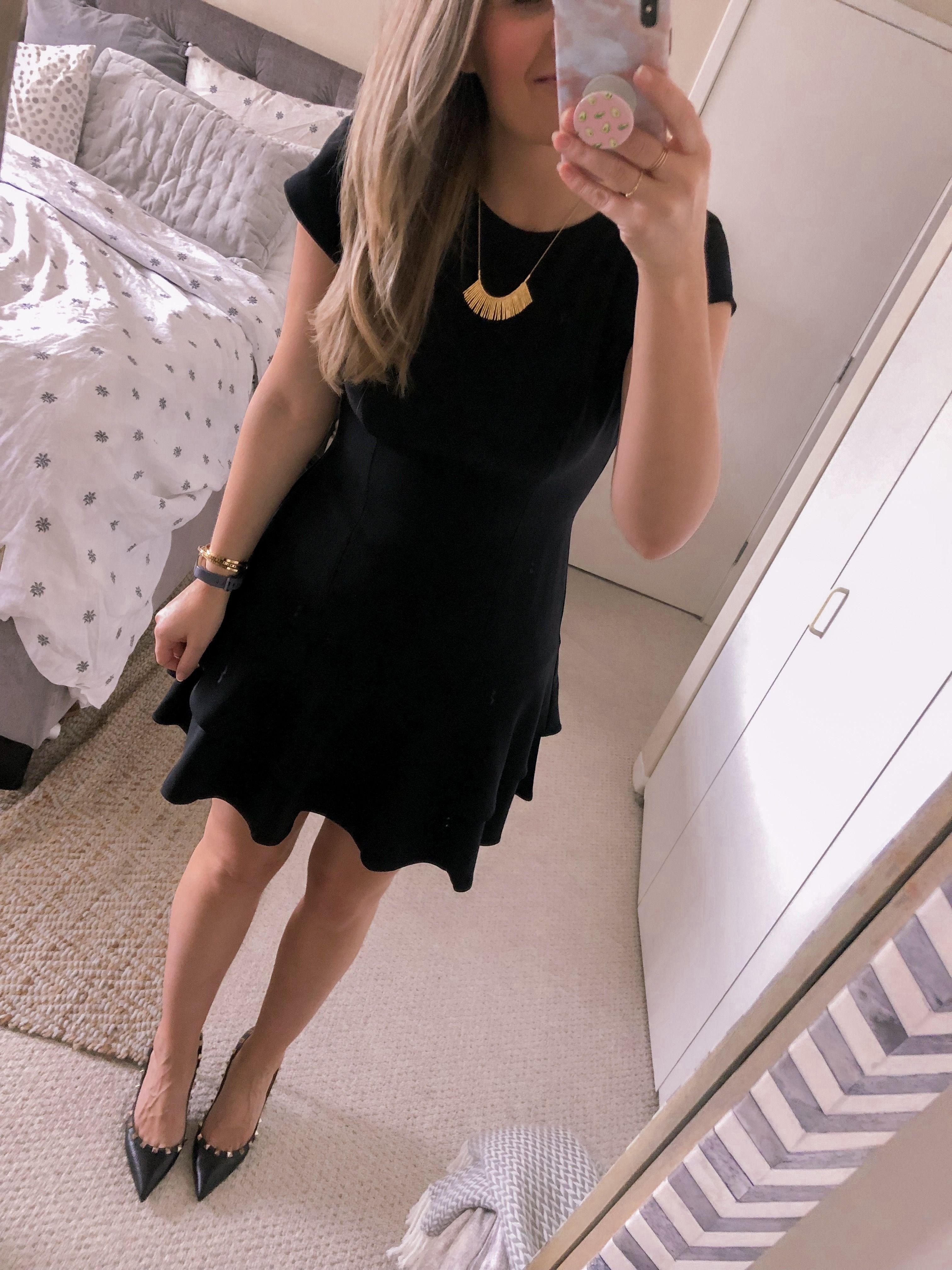 Ootd 1 15 19 Black Dress Visions Of Vogue All Black Dresses Black Dress All Black Dress Outfit [ 4032 x 3024 Pixel ]