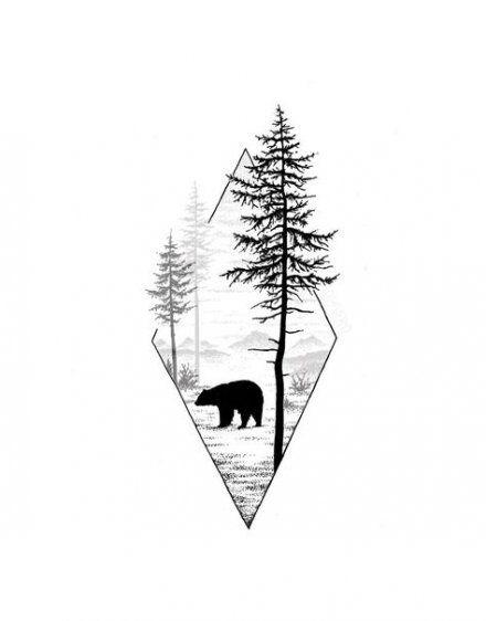 Photo of Les meilleurs paysages de forêt d'arbres de tatouage 62 idées
