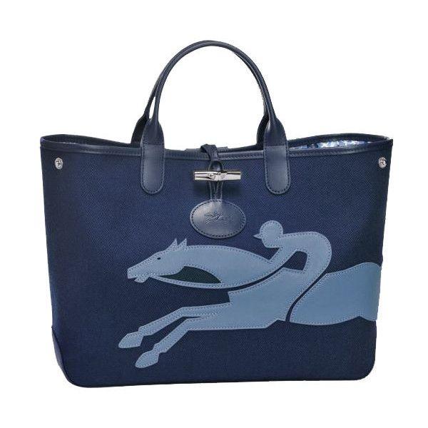 Longchamp Roseau Fleuri Medium Tote Bag ($460) ❤ liked on ...