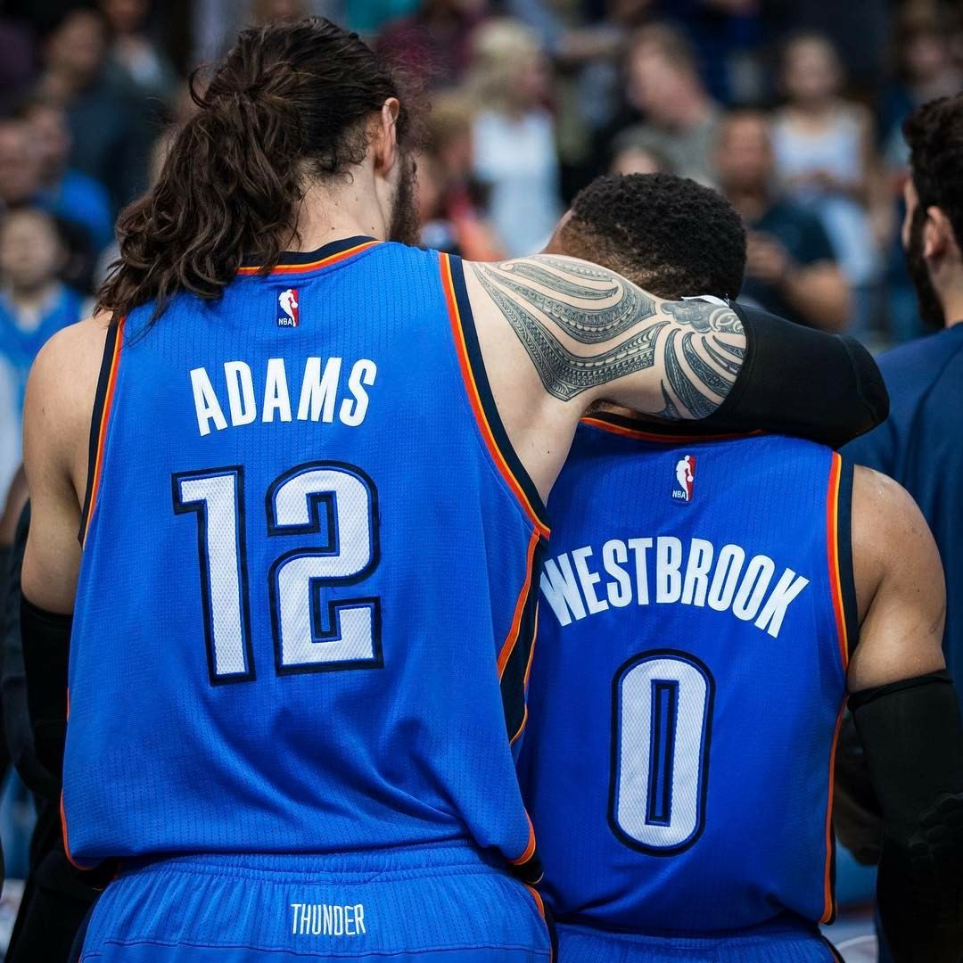 Pin By Ryan Kiehl On Steven Adams Oklahoma City Thunder Okc Thunder Basketball Thunder