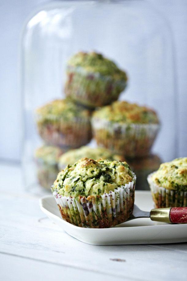 florentine muffins herzhafte spinat ricotta muffins rezept scones breads biscuits. Black Bedroom Furniture Sets. Home Design Ideas