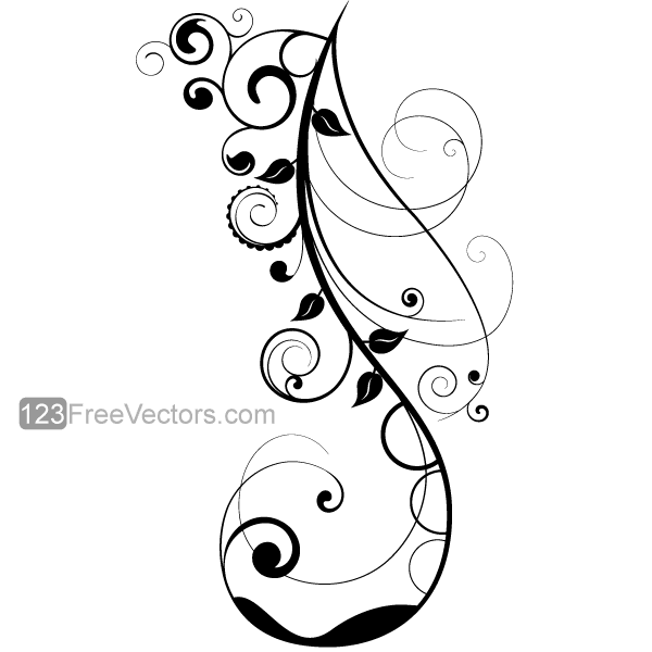 Download Free Decorative Ornamental Floral Design Vector Graphics 7 From