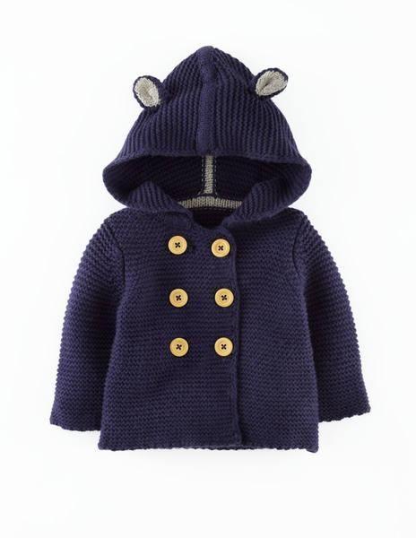 Abrigo crochet para nino