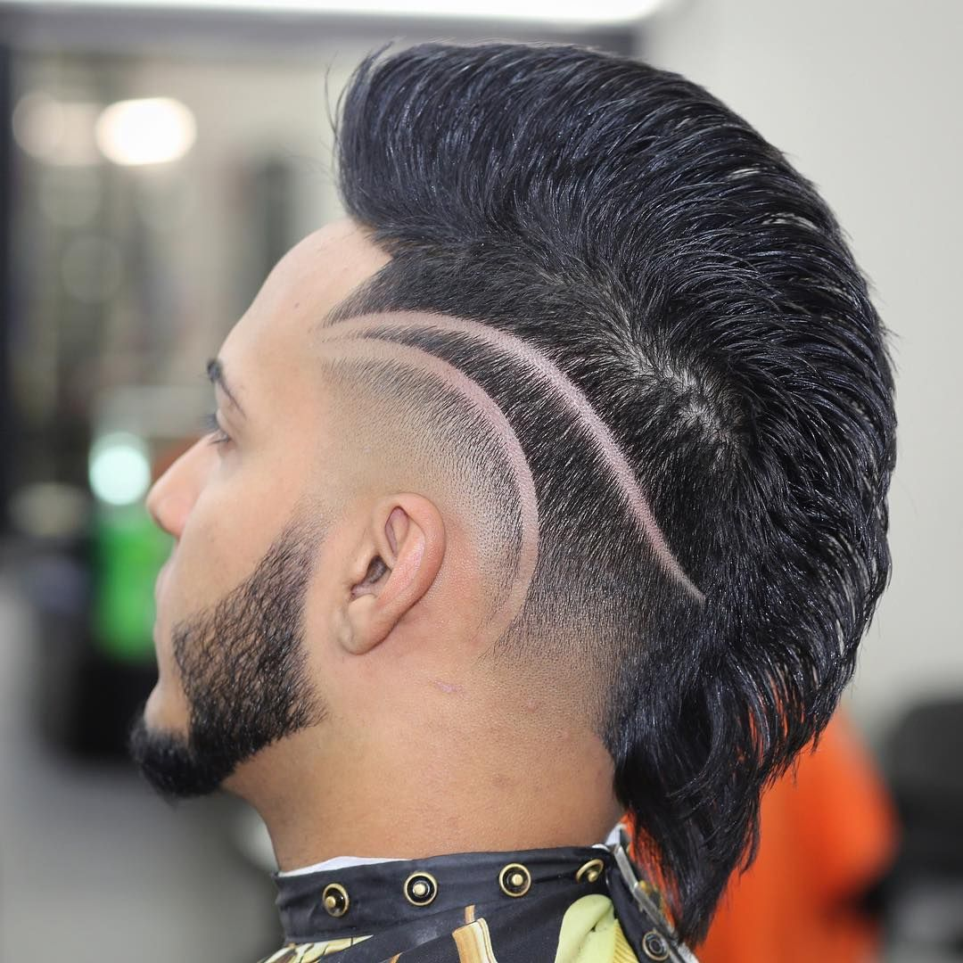 Mohawk Amp Freestyle Part Mohawks In 2019 Hair Cuts