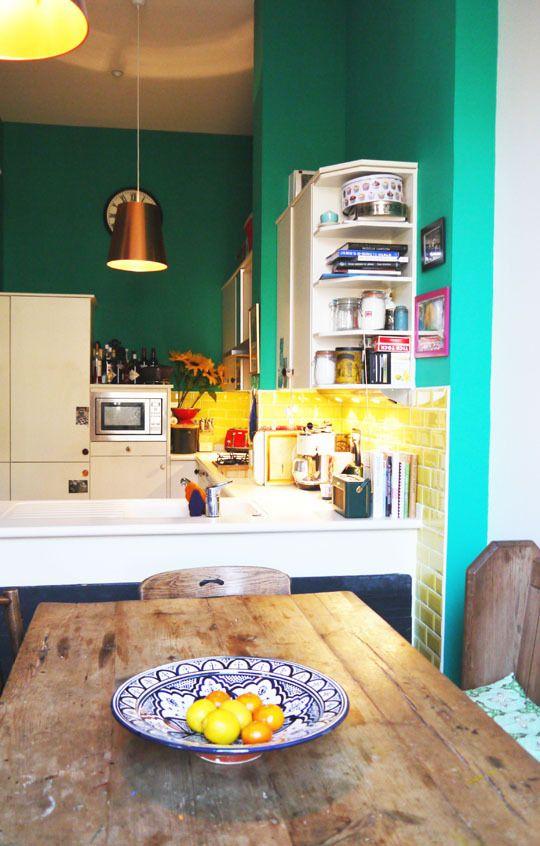 A Quirky, Kitschy Scottish Kitchen Kitchen Spotlight | The Kitchn