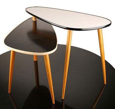 EBay Watch: Midcentury Split Level Side Table