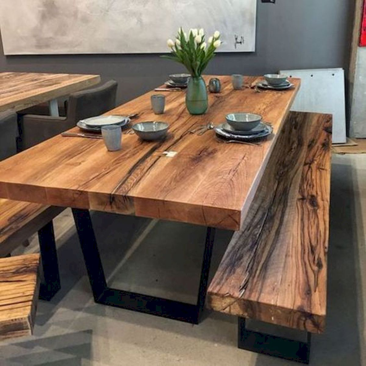50 Awesome Diy Rustic Dining Table Design Ideas Wooden Dining Room Table Unique Dining Tables Dining Table Design