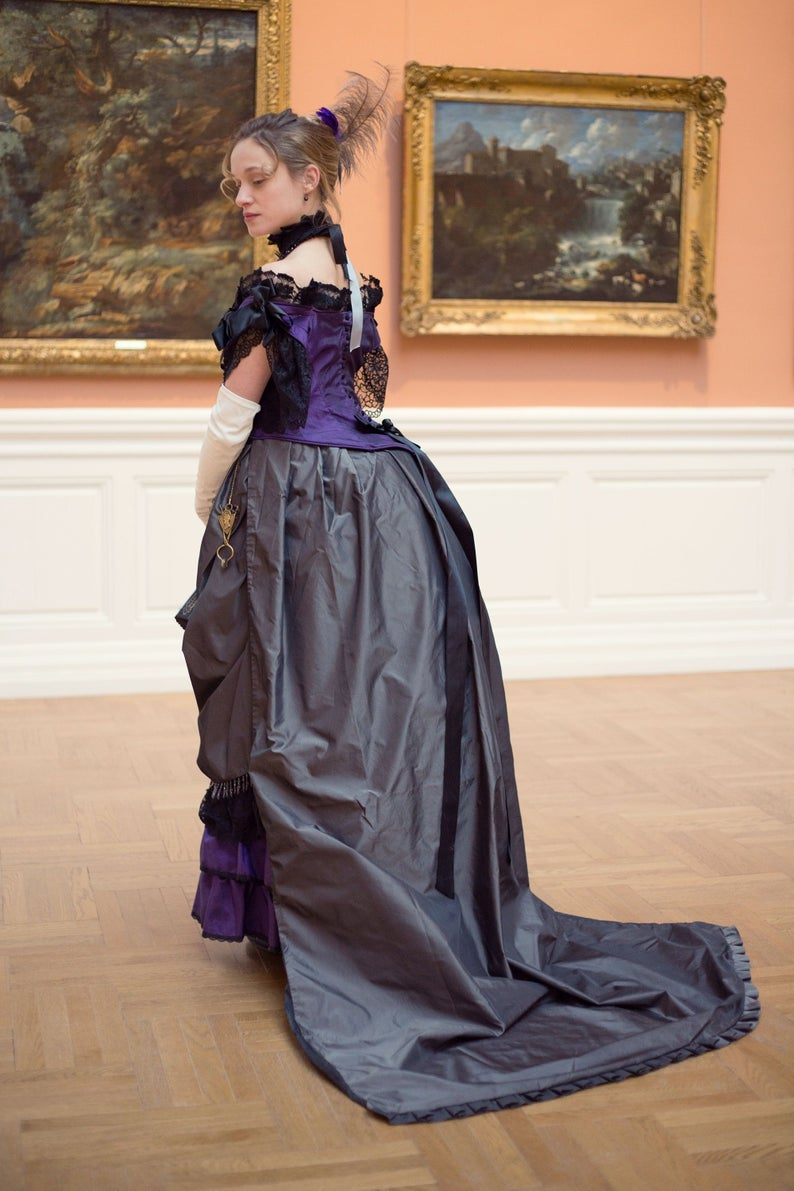 Ordering 1880 A Prom Dress Gown Victorian Bustle Dress Victorian Gown 1880 S Dress Victorian Dress Bustle Dress Victorian Gown Prom Dresses Gowns [ 1191 x 794 Pixel ]