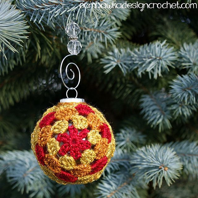 12 Cute Free Christmas Ornament Crochet Patterns Crochet Christmas