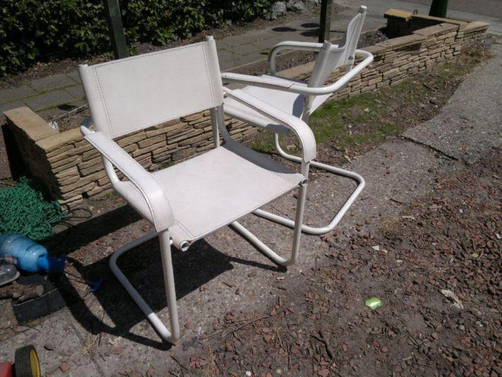 Witte buisframe stoelen gratis marktplaats ⦁ producten