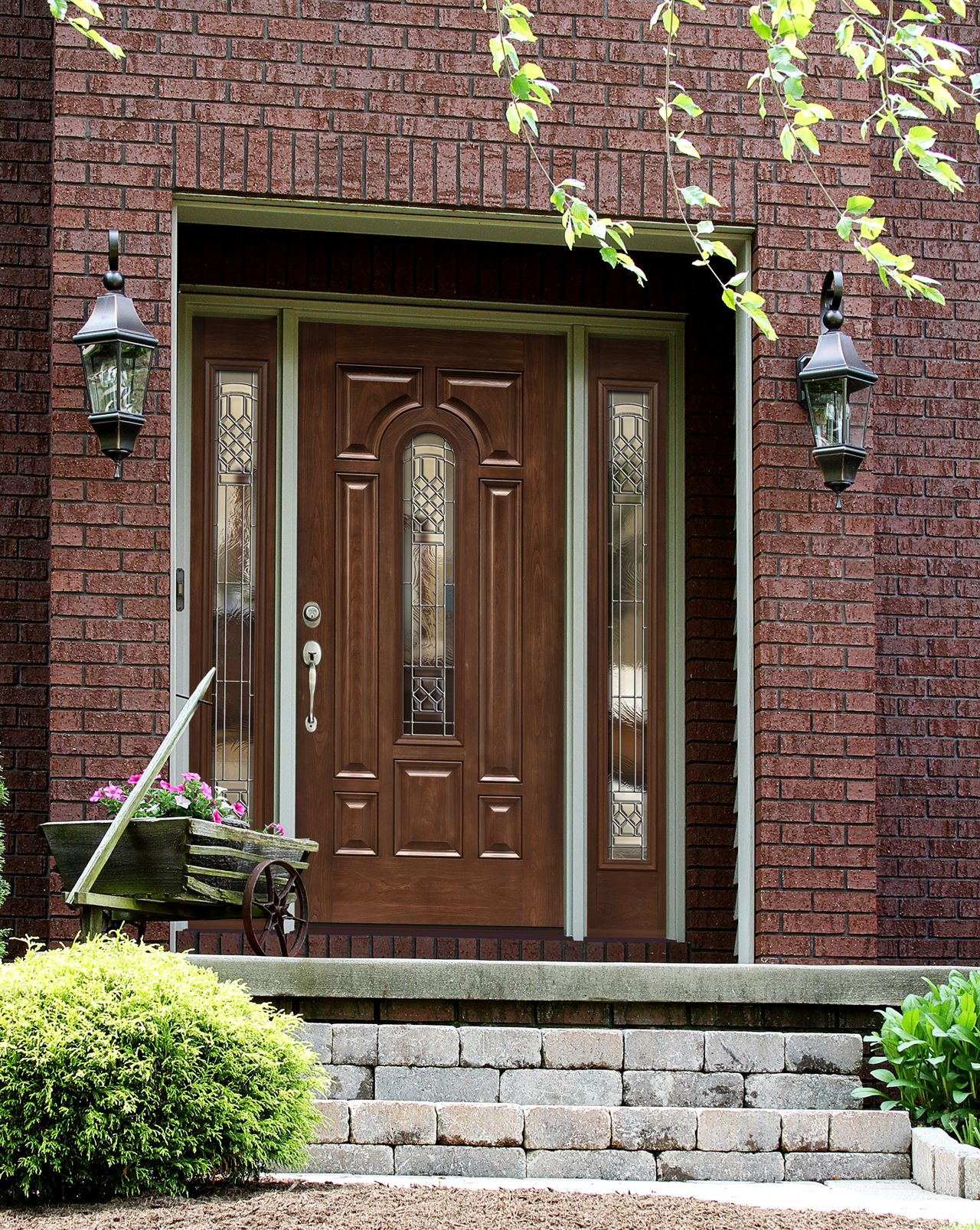 Customize And Accentuate Your Home With An Elegant Provia Entry