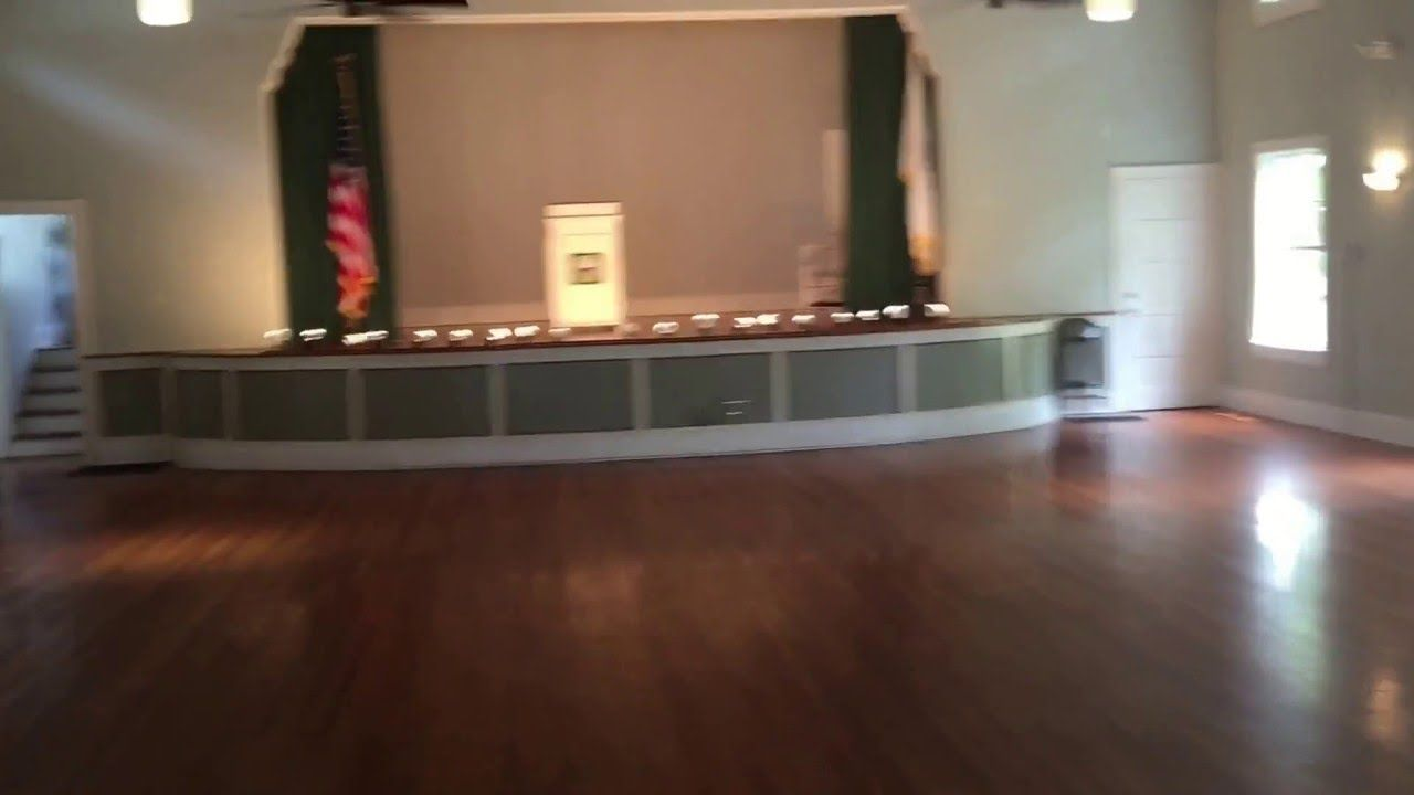 Video Walk Through Of The Women S Club Wedding Reception Venue In New Smyrna Beach Fl