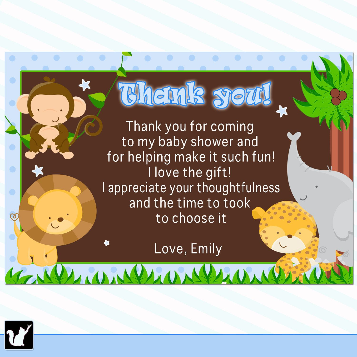 Baby Shower Thank You Cards   Bundle Of Joy    Babies