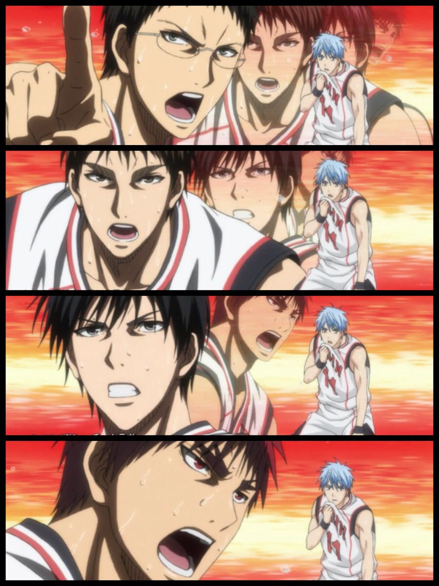 Kuroko no Basket season 3 ending (my Pic Jointer project)