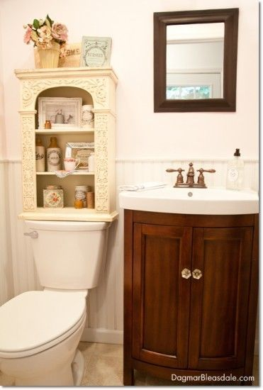 Photo of Blue Cottage Decor: Our Powder Room