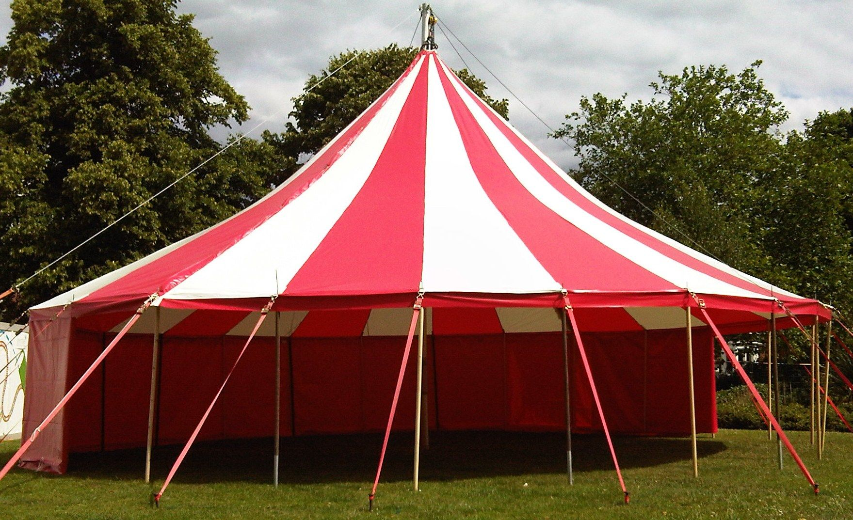 Big top hire circus showsmarquee hire party tent hire and event hire equipment & 12m Red and White Big Top. via mahala knight google search ...