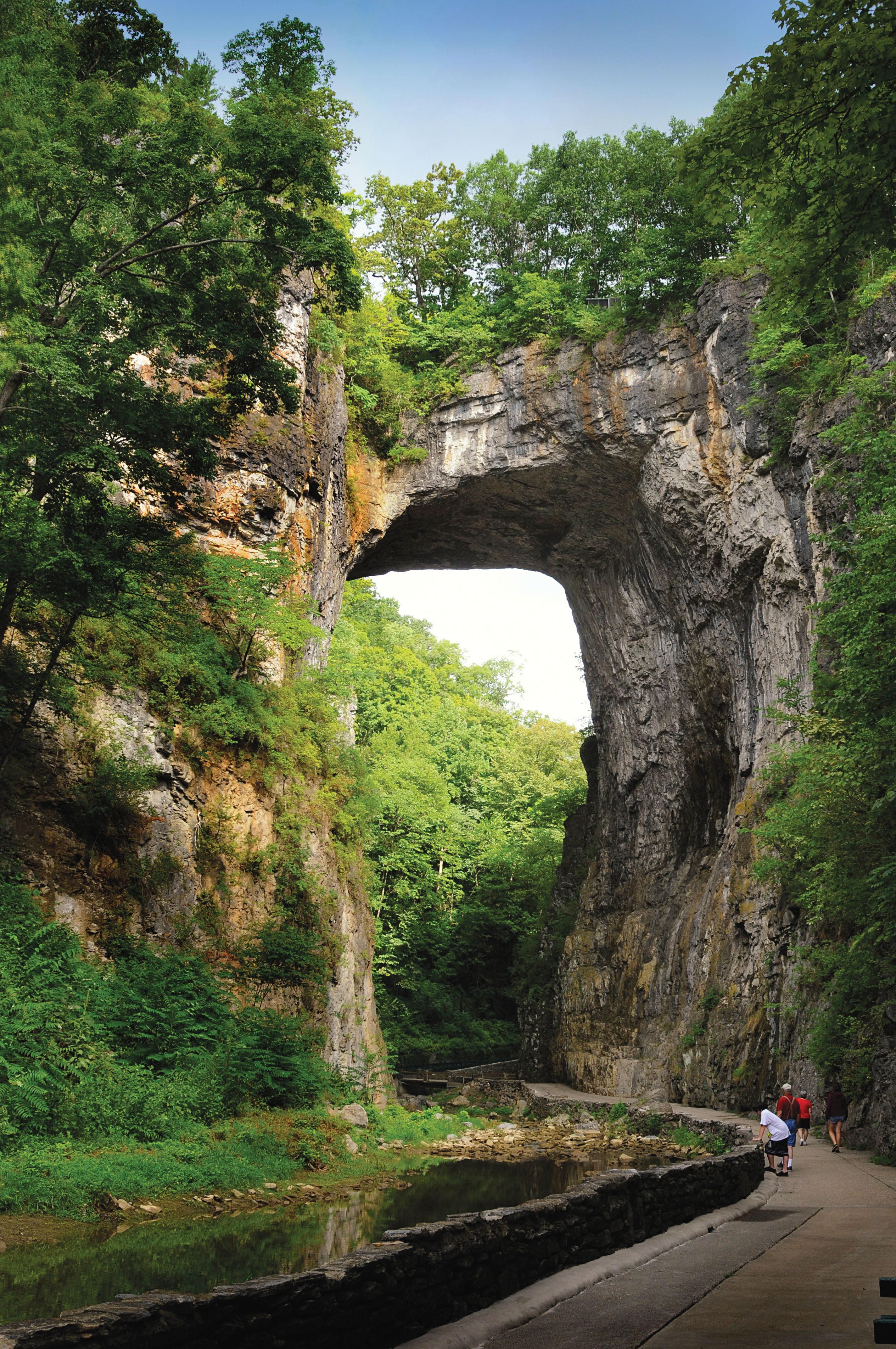 The Natural Bridge Va History Pejzazhi Puteshestviya Landshaft