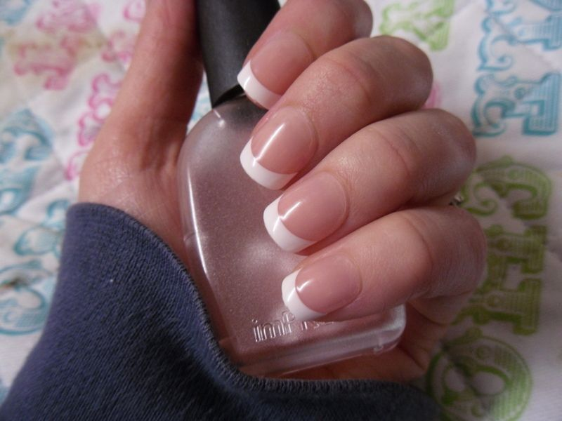 imPRESS Press on French Manicure review false gel nails | nails ...