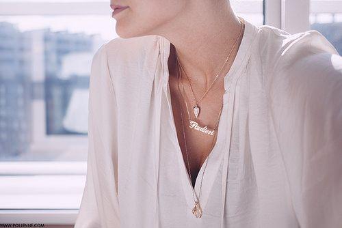 Necklaces  by pielaun, via Flickr