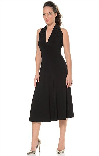 ULTIMATE BLACK DRESS- Wear 20 ways (have made in brown?)