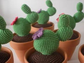 Amigurumi Cactus : Gateando crochet patrón cactus amigurumi free pattern crochet