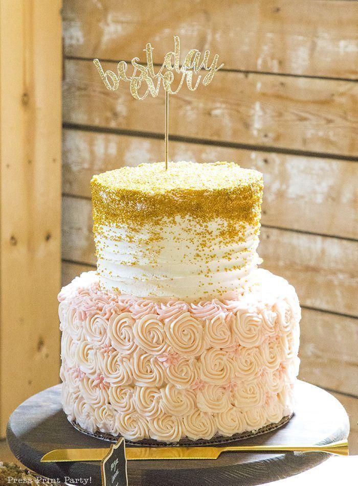A breathtaking rustic barn wedding - country wedding - Press Print ...