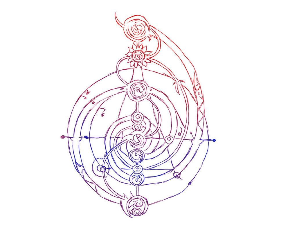 The Dark Crystal symbol sketch by KittySpiceLife | Faeries ...