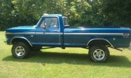 1976 Ford F250 Highboy Classic Truck In Mount Jackson Va