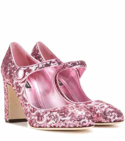 Dolce \u0026 Gabbana | Sequin shoes