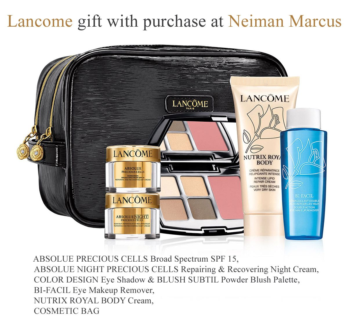 Dillards is offering this Lancome GWP ($35 qualifier). http ...