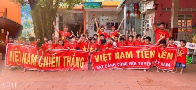 Áo cờ đỏ sao vàng trường mầm non Thành Nhơn - Hình 2