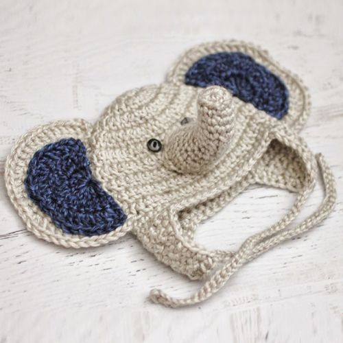 Baby Elephant Crochet Hat - Free Pattern | Things I want to Crochet ...