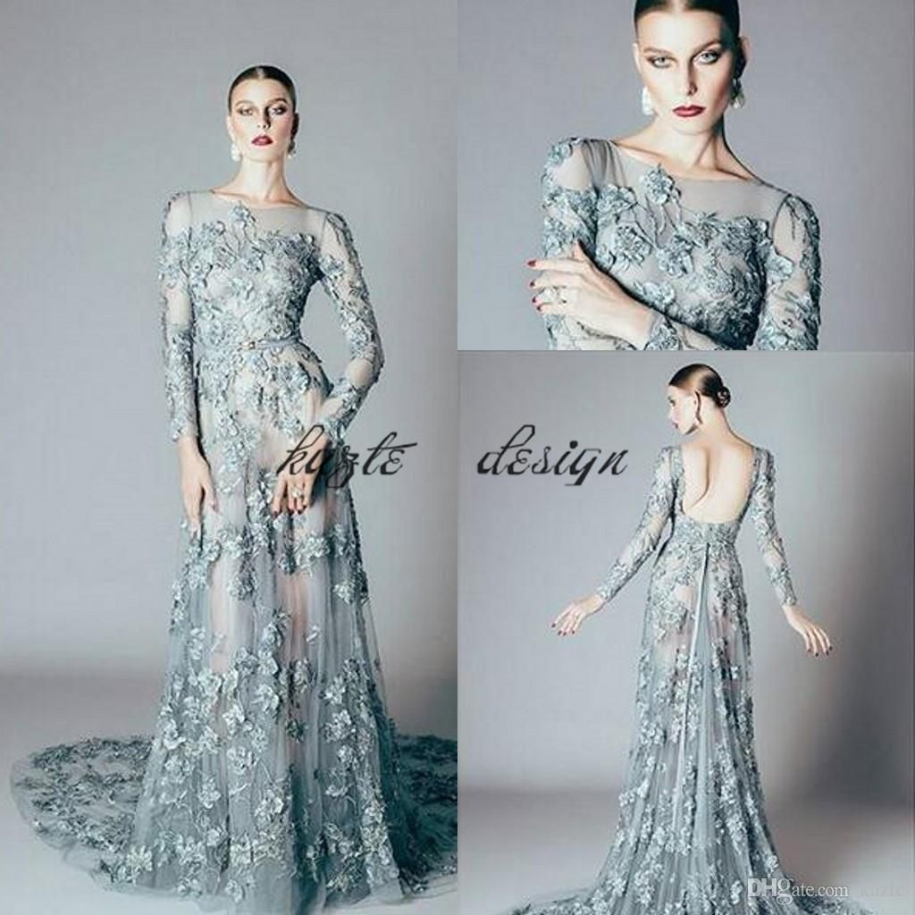 Alfazairy Couture Pale Green Mermaid Prom Pageant Dresses 2018 ...