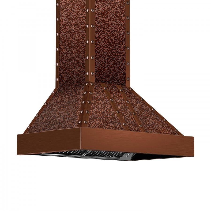 Zline 36 Quot Designer Series Copper Finish Wall Range Hood