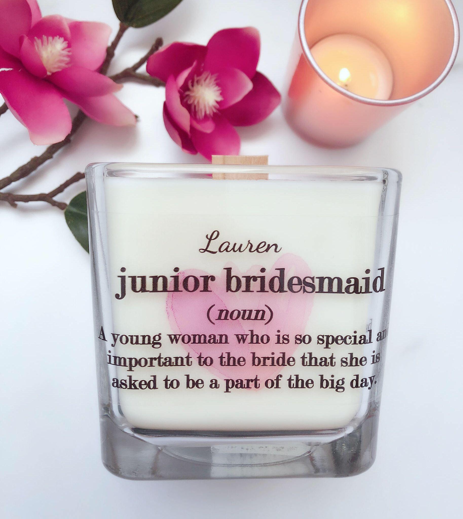 Junior Bridesmaid Gift Bridesmaid Gift Boxes Junior
