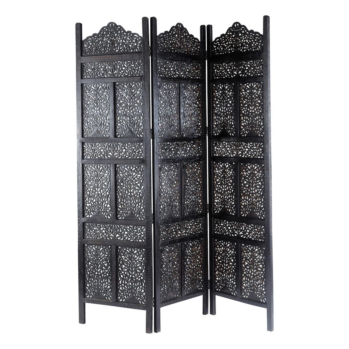 havelis black folding screen maisons du monde furniture pinterest woods divider and. Black Bedroom Furniture Sets. Home Design Ideas