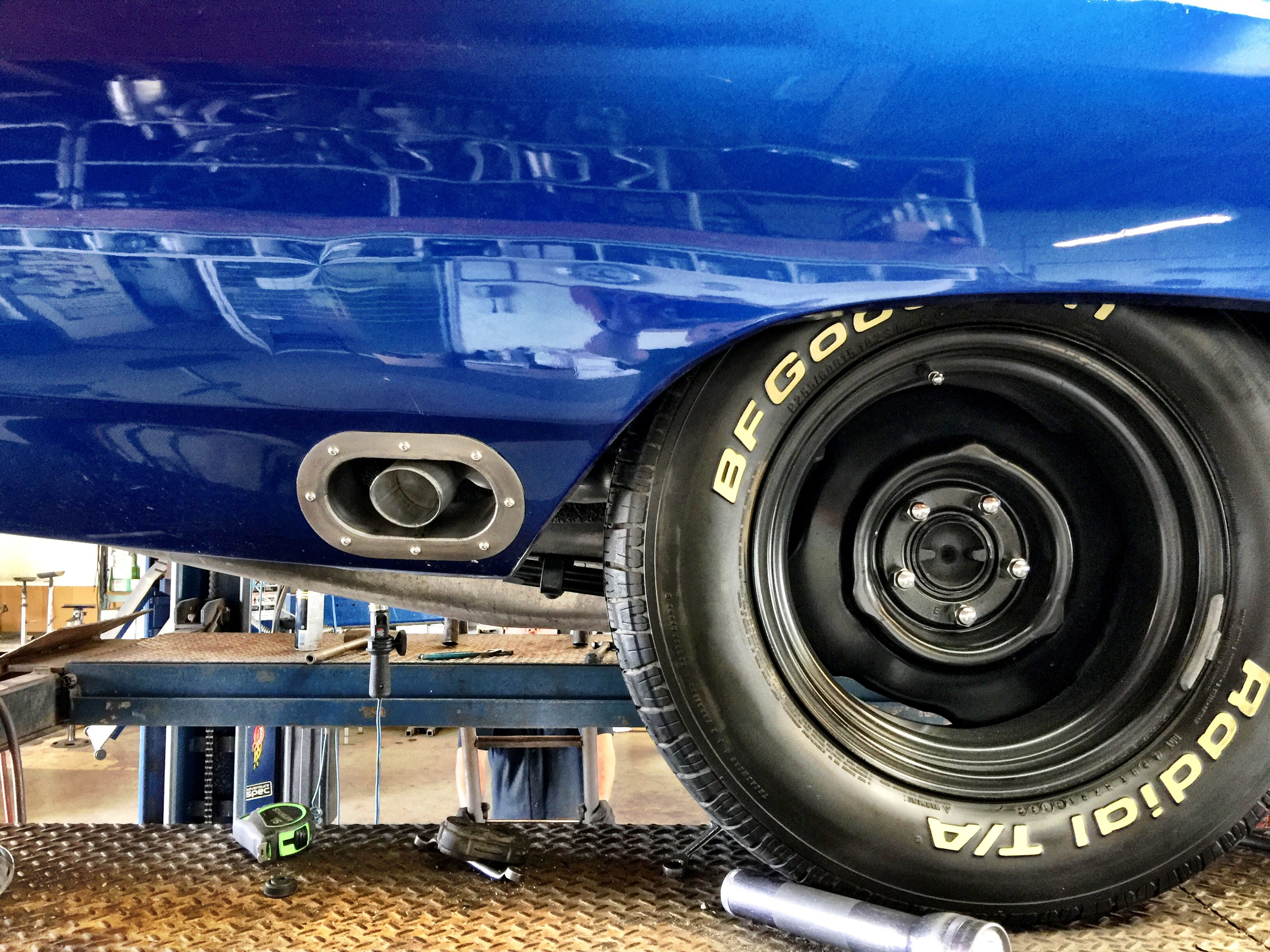 medium resolution of goliath exhaust 1970 roadrunner