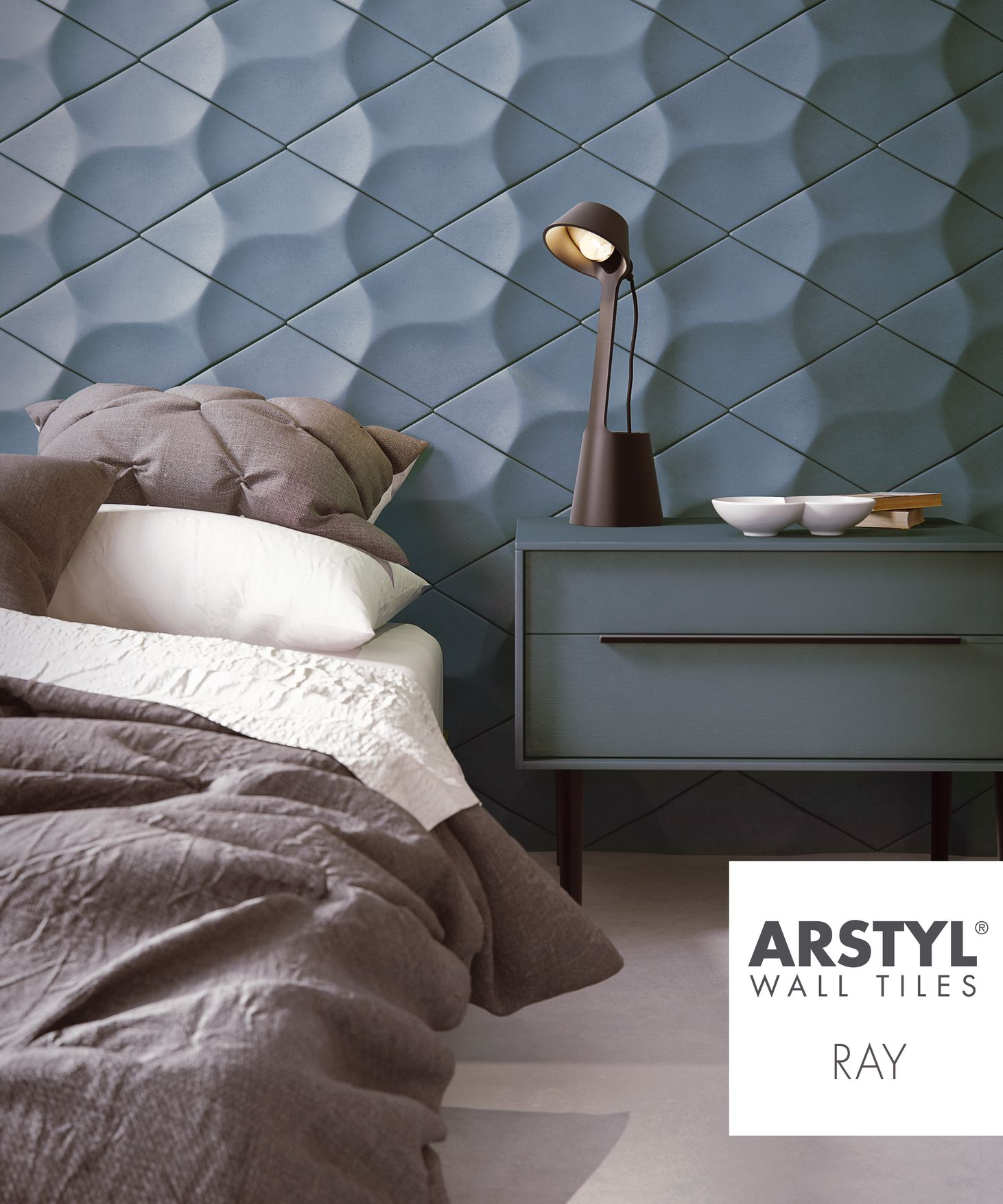 Arstyl Decorative 3d Wall Elements Wall Panels Bedroom Textured