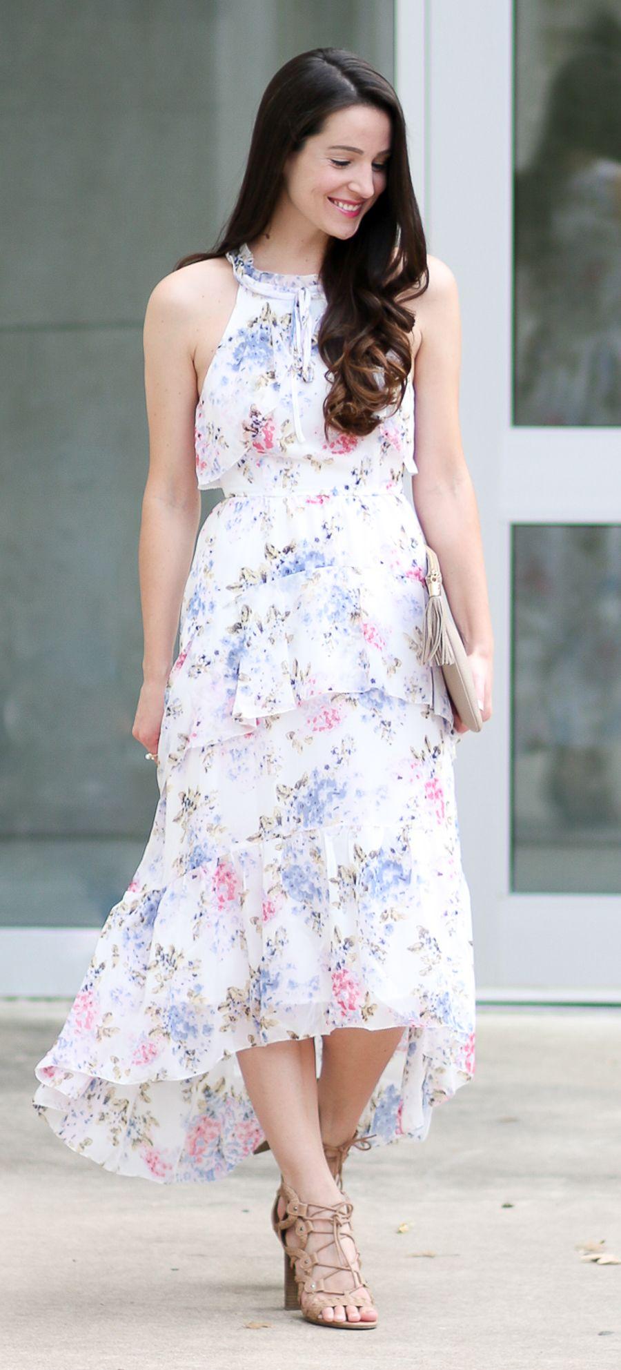 Wearing White To A Wedding After Market Floral Chiffon Maxi Dress Floral Chiffon Maxi Dress Dresses Chiffon Maxi Dress [ 1985 x 900 Pixel ]