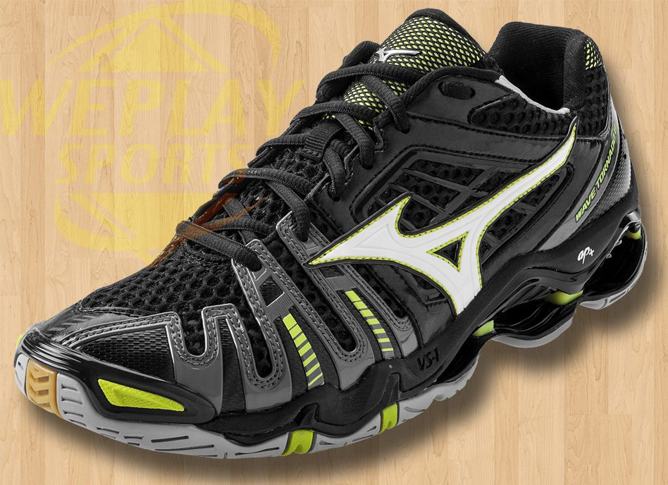 mizuno gray volleyball shoes green