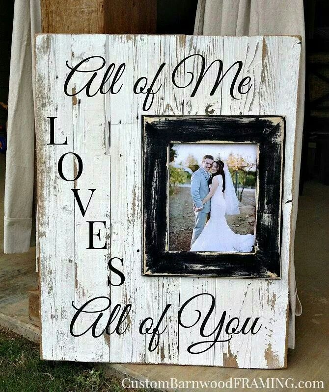 All of me loves all of you!